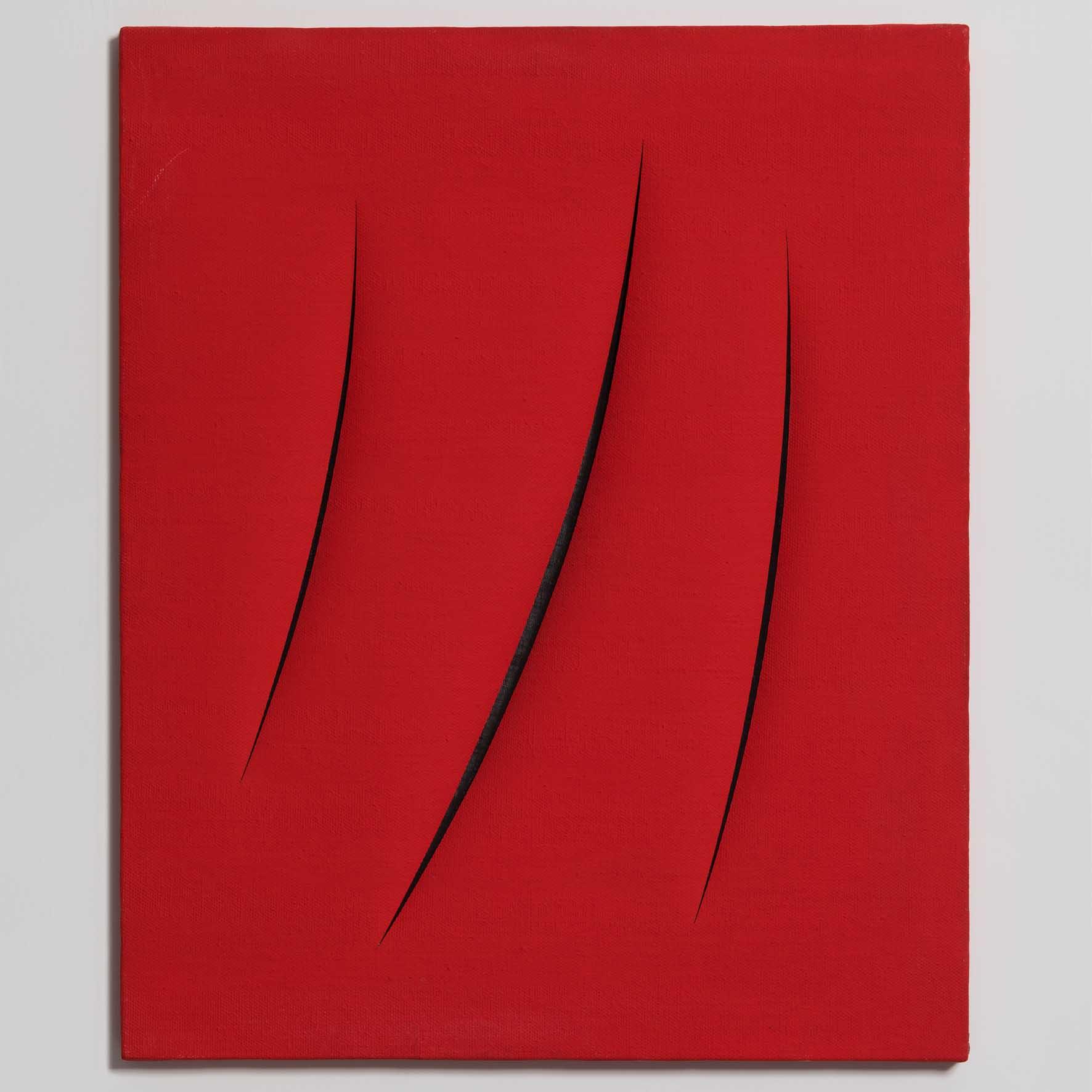 Lucio Fontana retrospective
