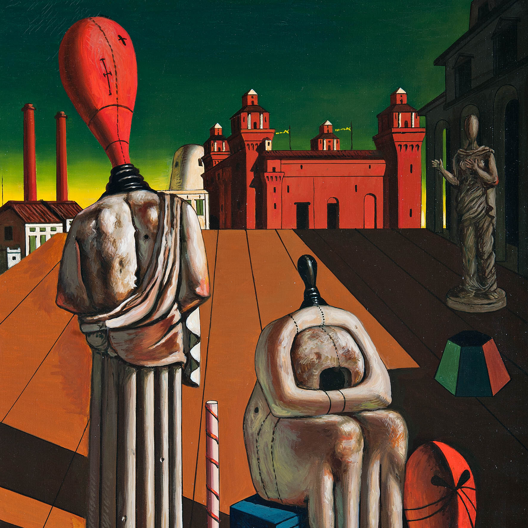De Chirico and Metaphysics